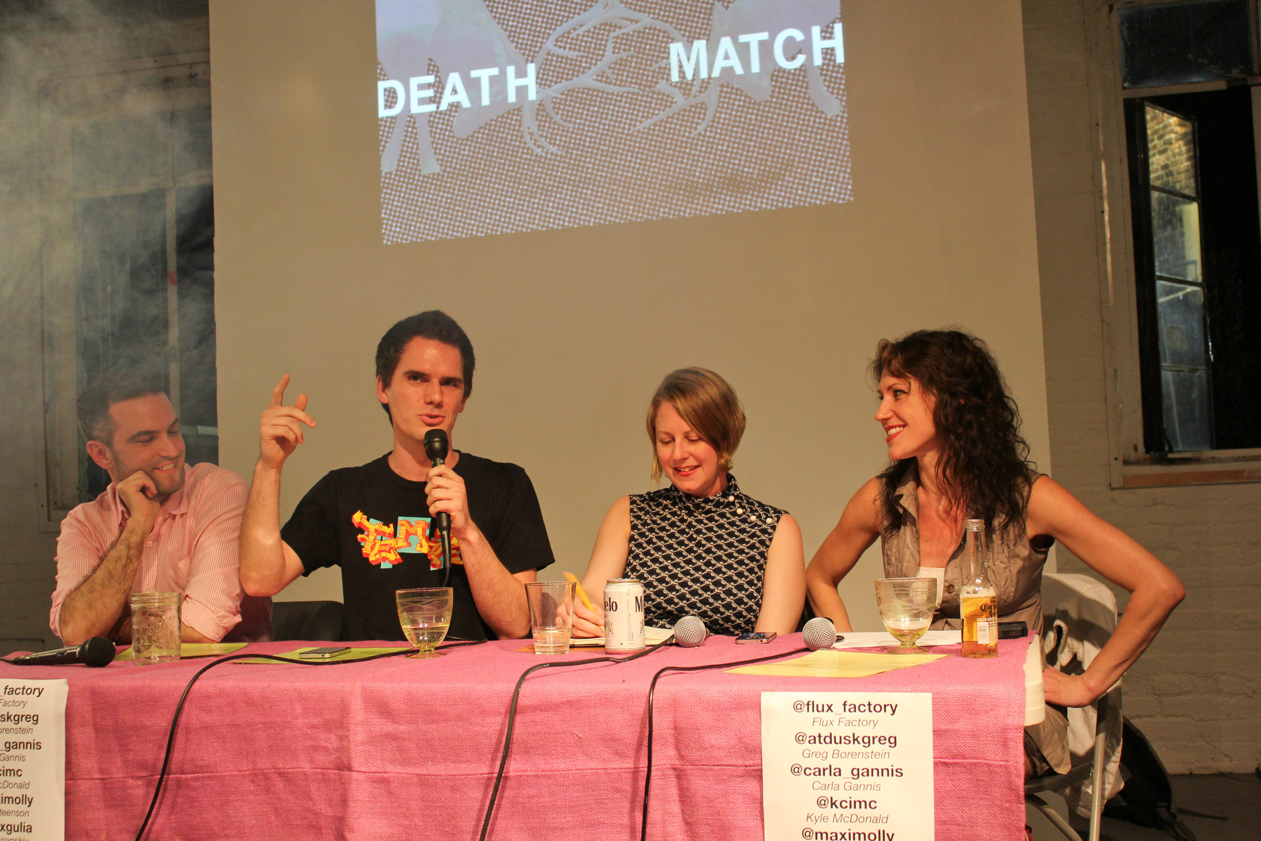 Flux Death Match: The New Aesthetic