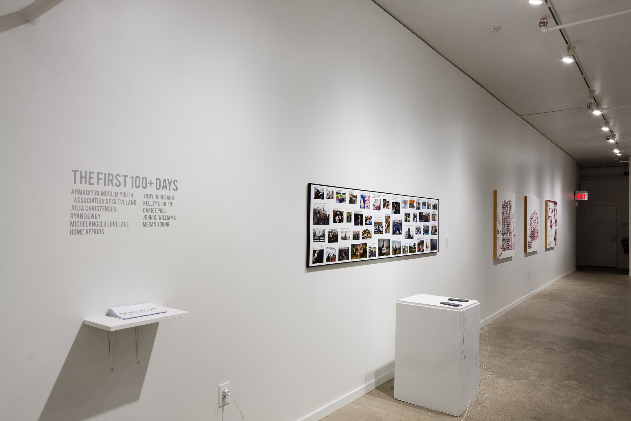 Installation view.Image by Jerry Mann courtesy of SPACES.