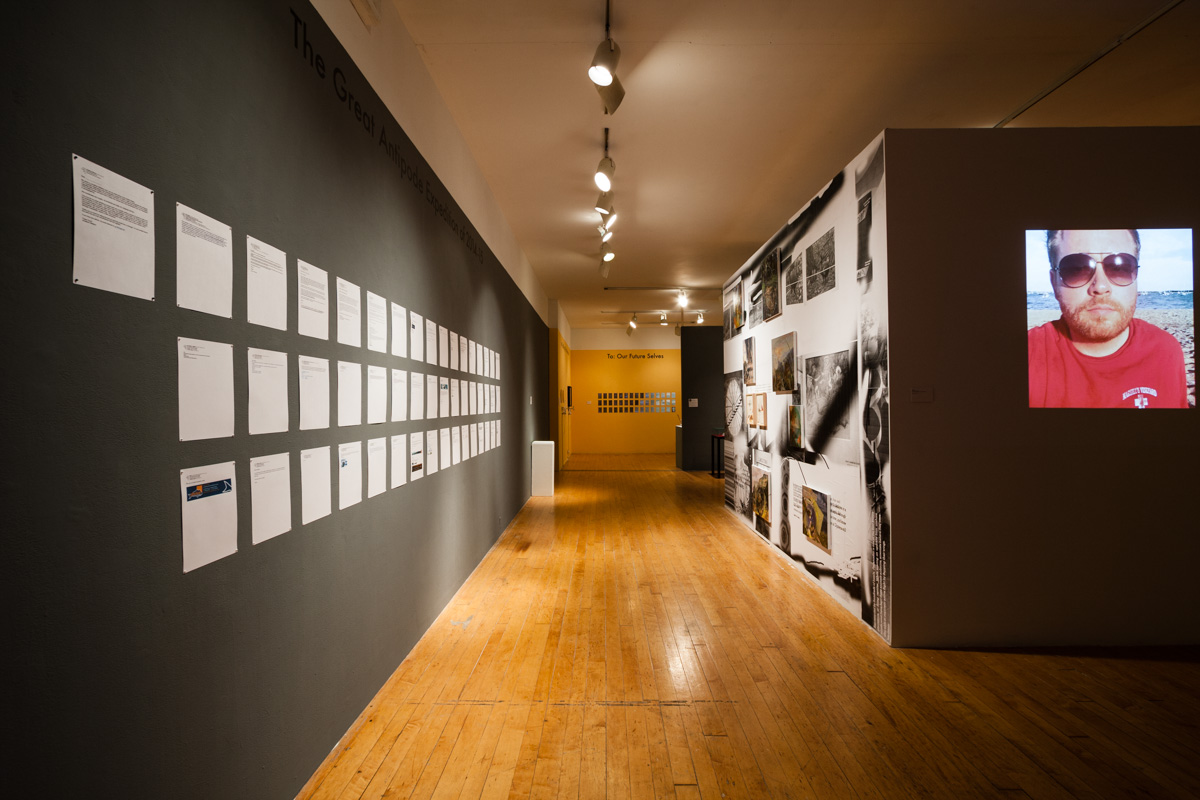 Installation view. PMRNI Gift Shop , organized by Pita Brooks. Image by Jerry Mann, courtesy of SPACES.