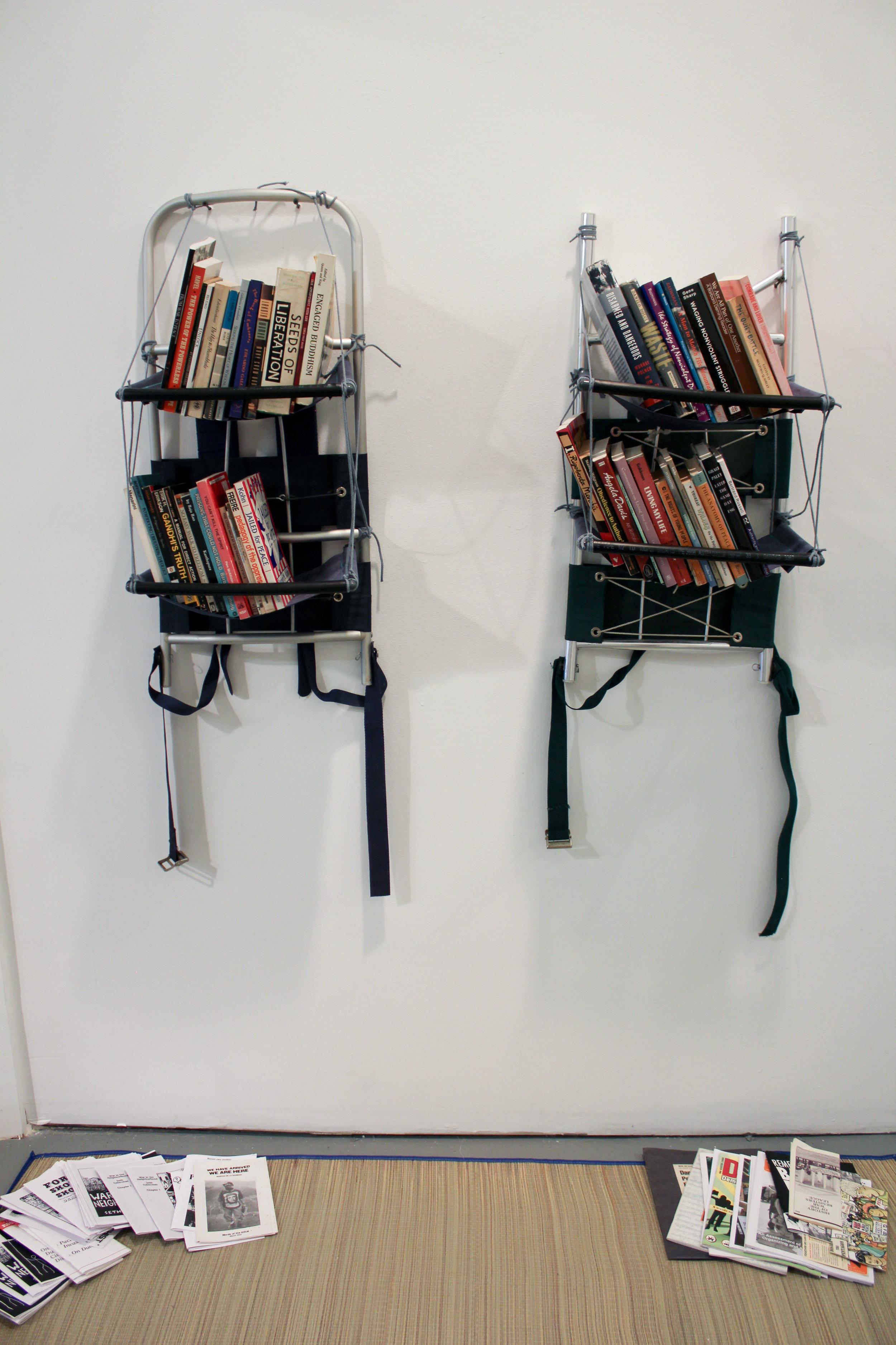 Nathaniel Katz and Valentina Curandi,  The Pacifist Library