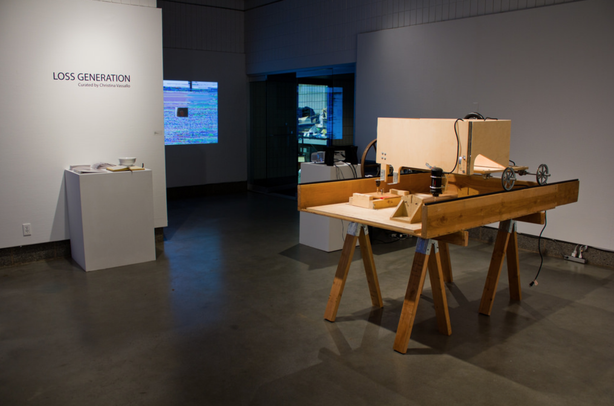 Loss Generation , installation view