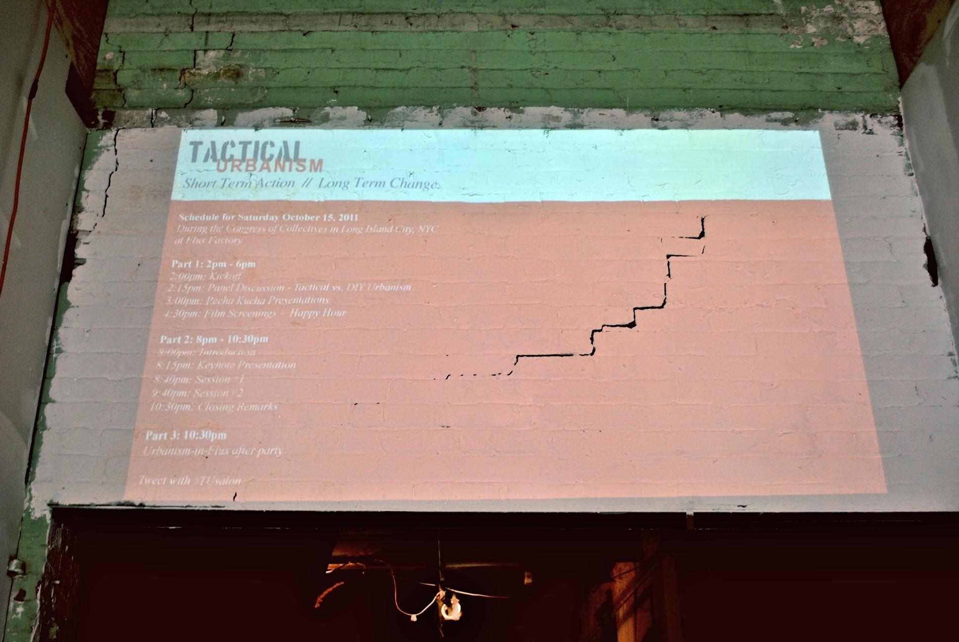 DoTank:Brooklyn, Street Plans, and Tomorrow Lab host an international forum on Tactical Urbanism