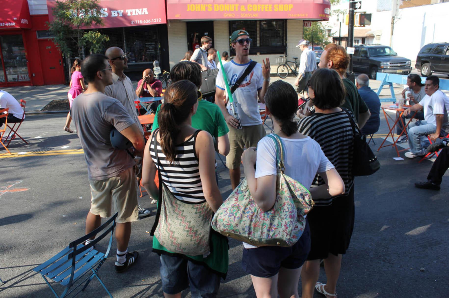 Jonah Levy,  Moitel Avenue ,artist-led tour