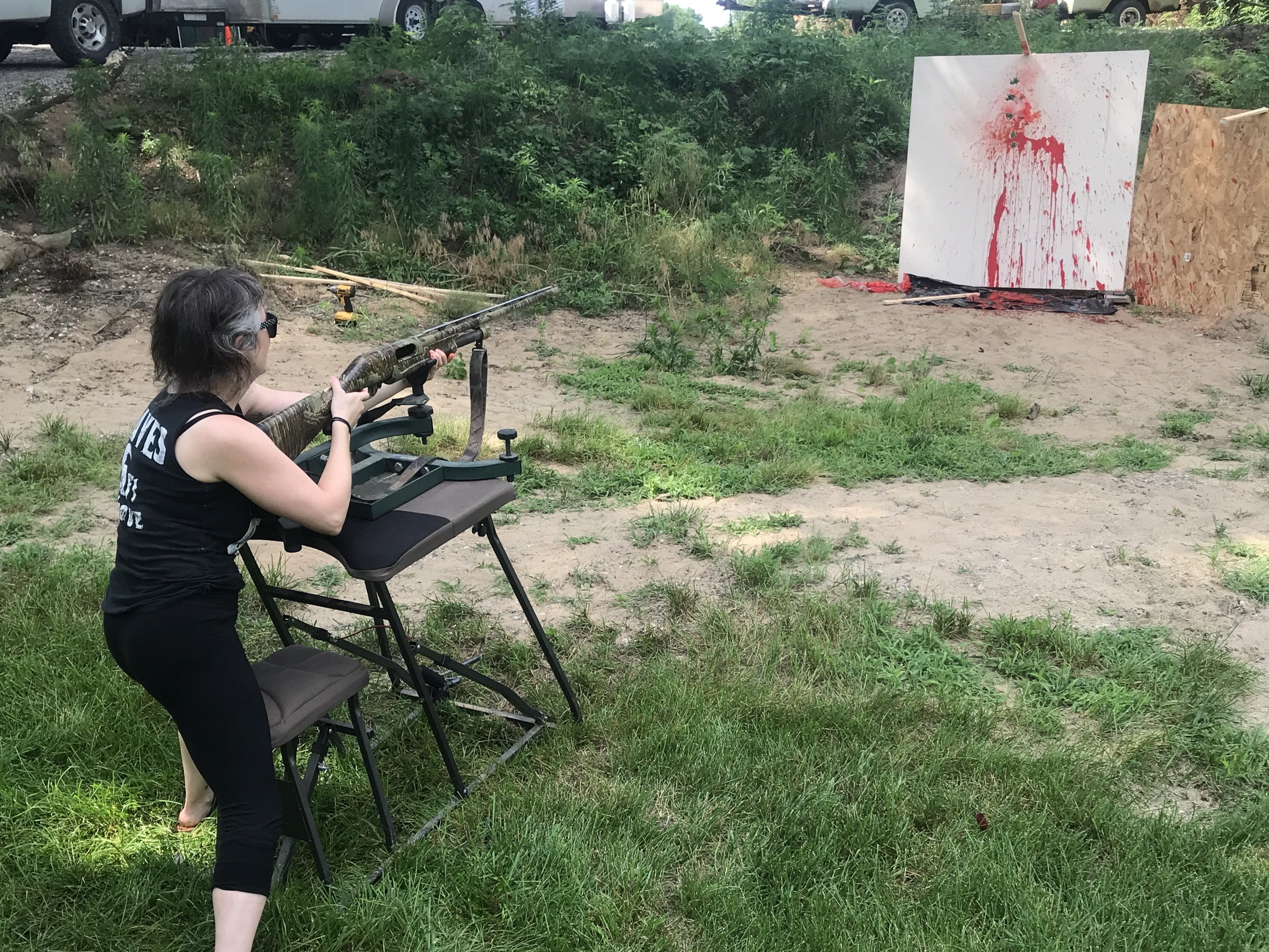 Michelle Graves, research for her contribution to  America's Well-Armed Militias  (2019).