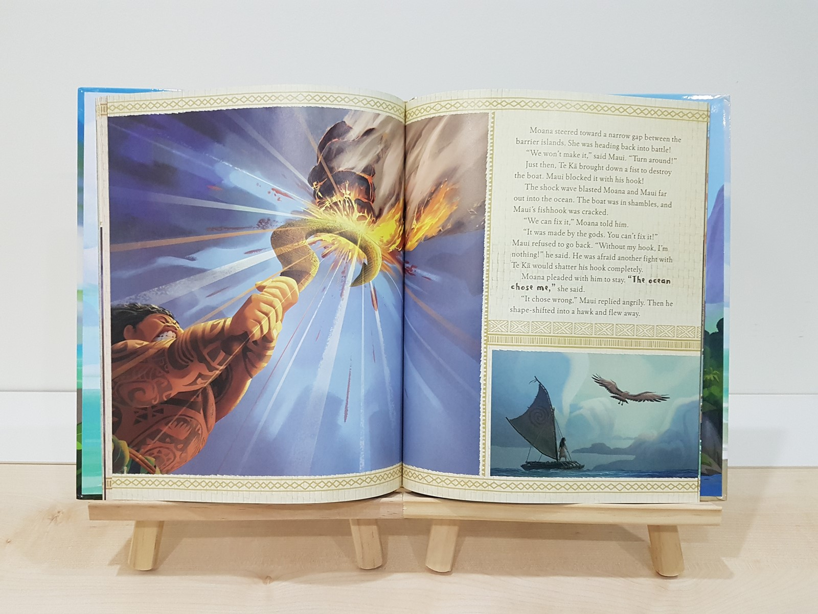 Moana: A Big Golden Book