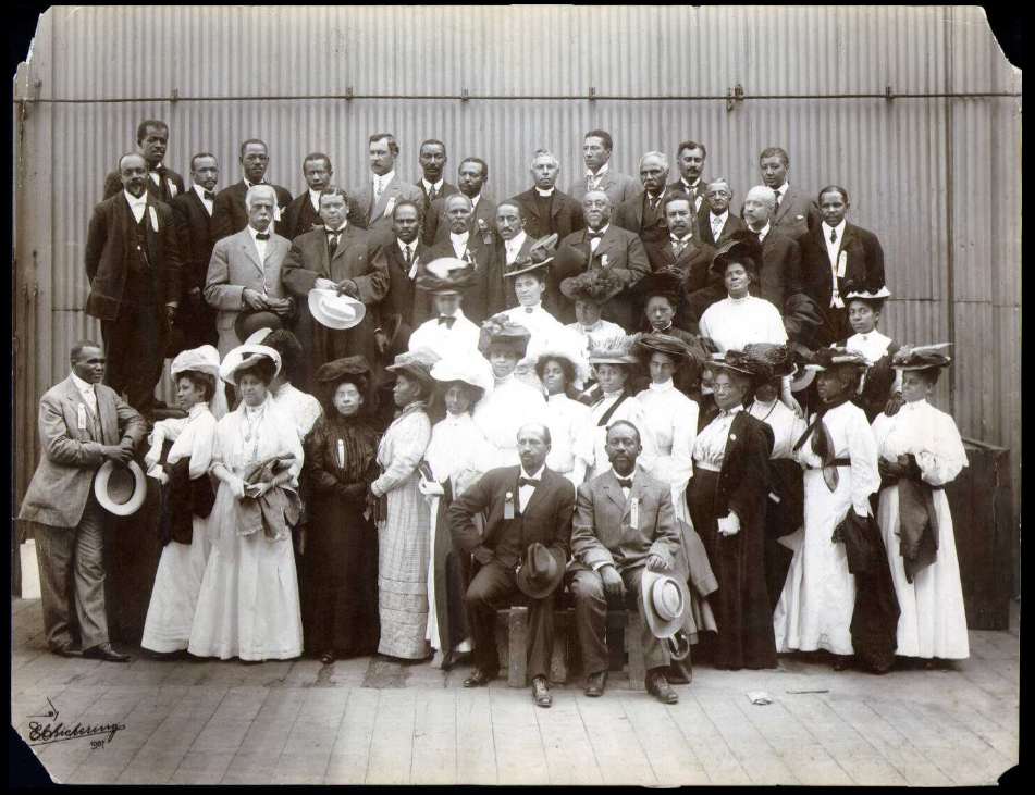 Delegates to the Niagara Movement meeting in Boston, Massachusetts in 1907
