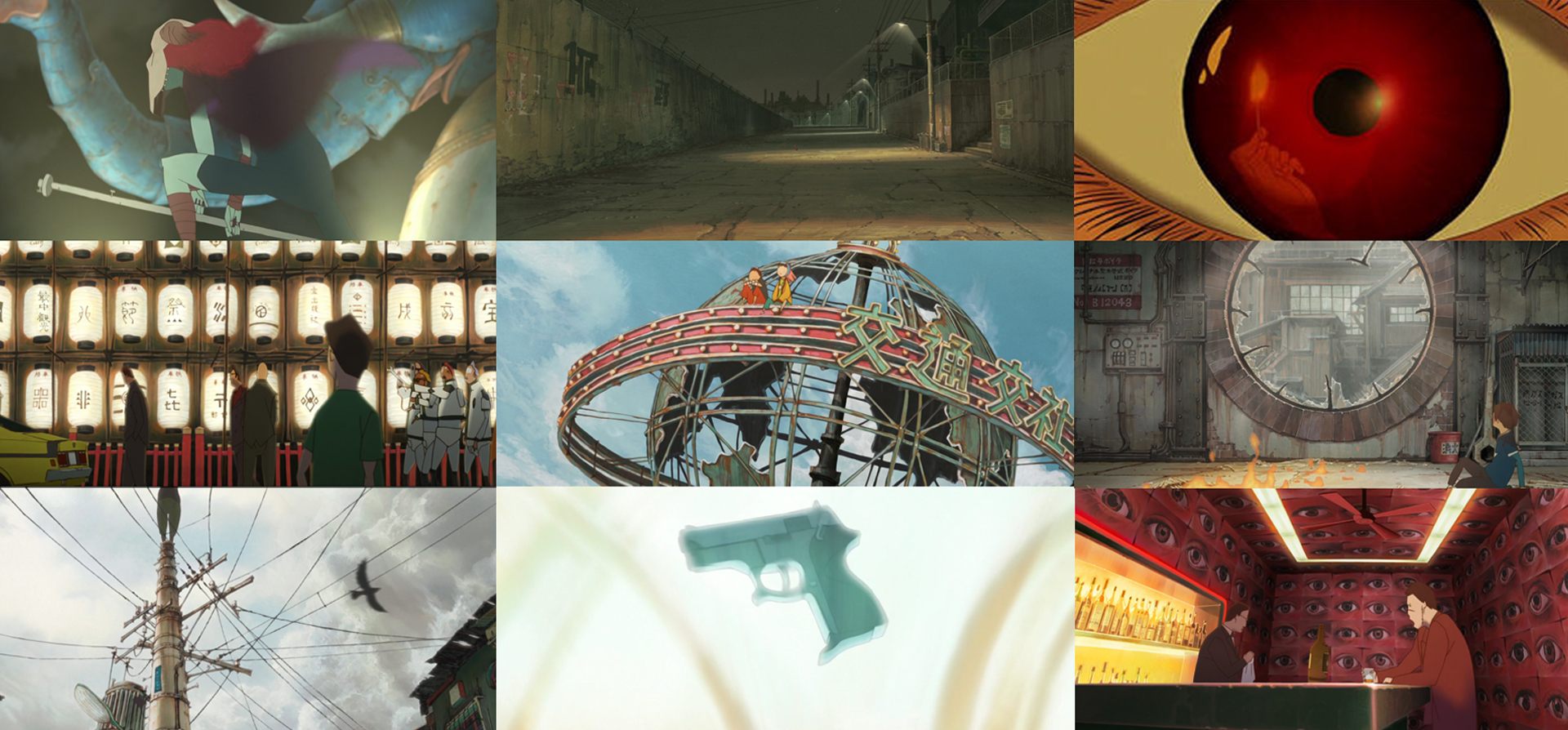 """Screen grabs from """"Tekkonkinkreeet"""" the film. By  Michael Arias ."""
