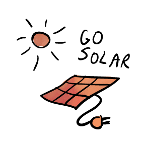 Get solar on your roof, in your yard, on a community solar farm, or just subscribe for solar delivery!