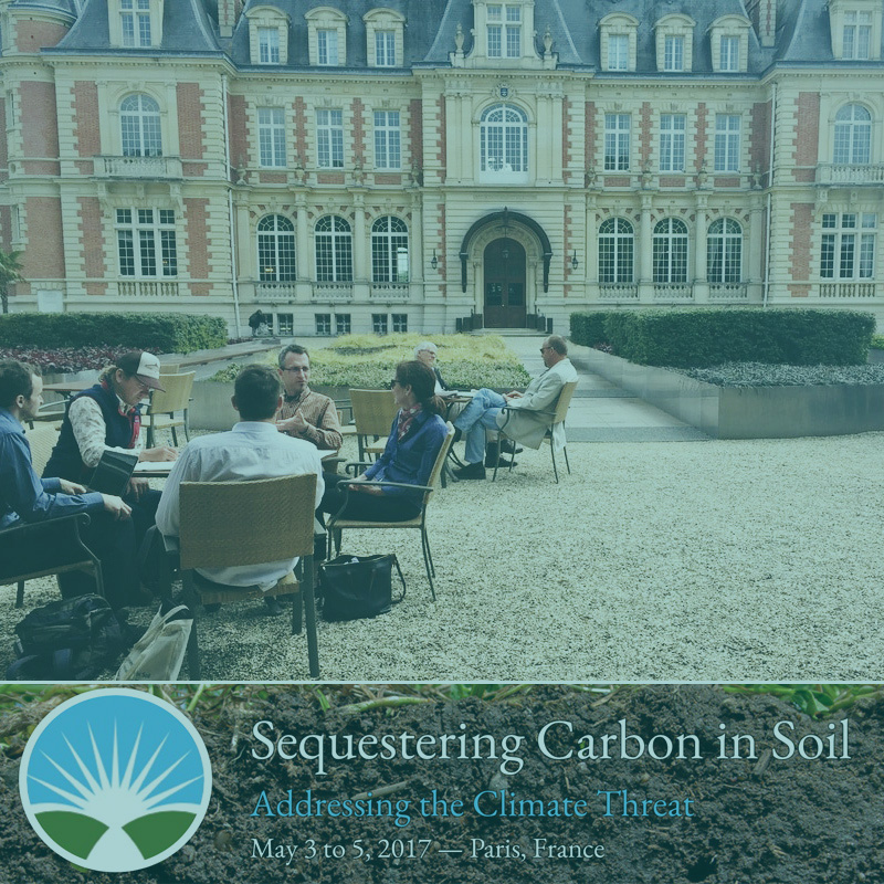 We rallied for cross-sector movement on climate change - On an event in May 2017, we gave a keynote to 185 soil carbon experts, farmers, NGO leaders, government officials and advocates from around the world. They were gathering to advance the field of soil carbon sequestration as a critical pathway for food security, adaptation to climate impacts, mitigation of climate change, and for healthy soils.