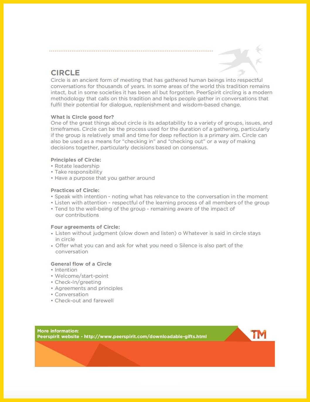 DOWNLOAD: HOSTING A CIRCLE