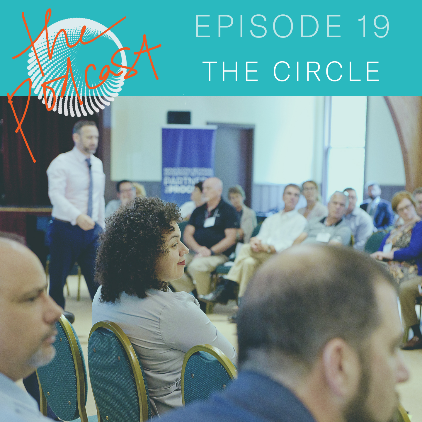 Episode 1.19: The Circle   FROM THE FLOOR: A NEW PROCESS FOR SYSTEMS THAT NEED CHANGE  Tim and Tuesday tell the story of a new, improvised process to orchestrate memorable, game-changing breakthroughs or surges ahead in understanding. ||  For show notes, visit the episode page . || May 28, 2019