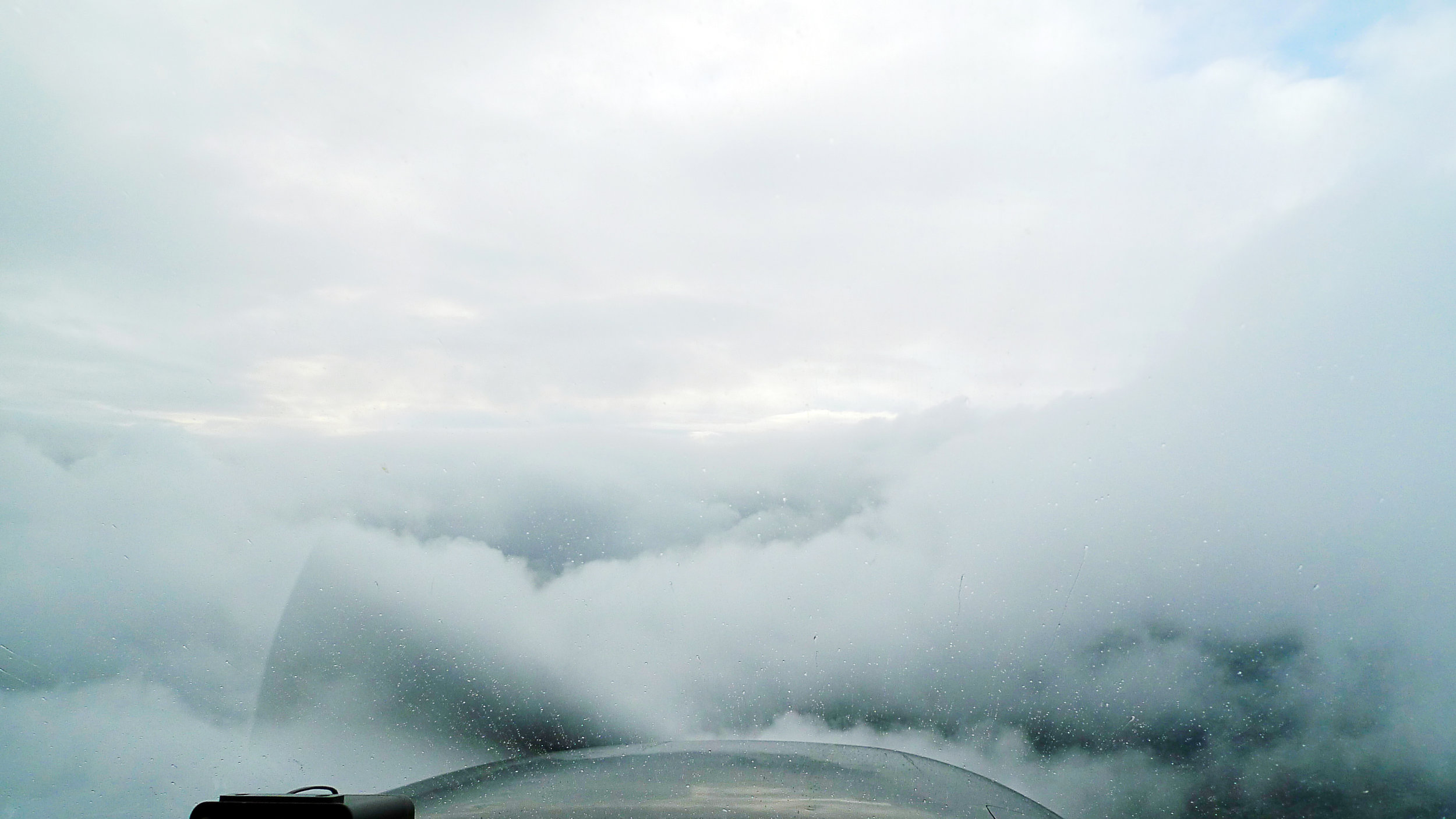 IFR in between cloud layers in a Cessna 172 . — source