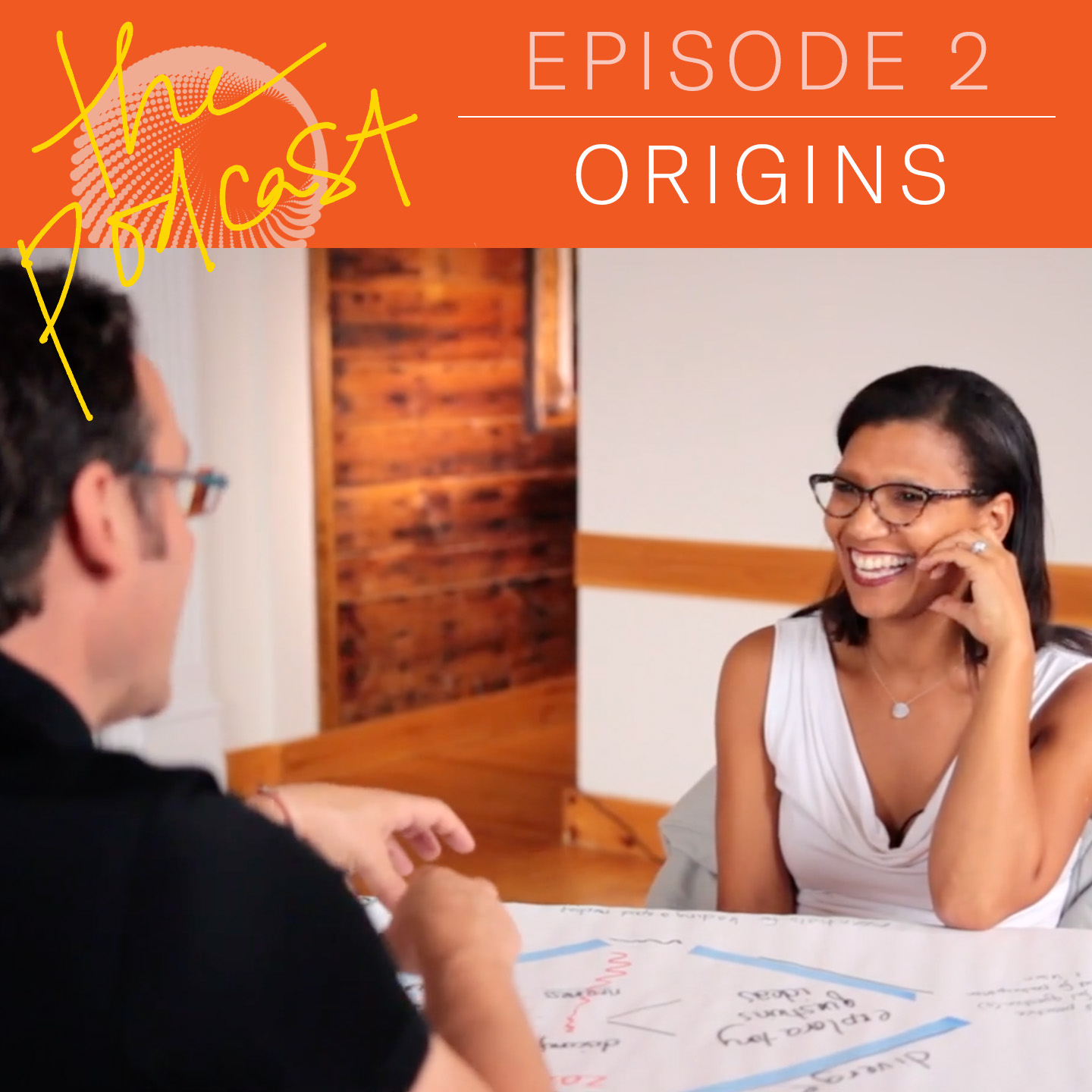 Episode 1.02: Origins   HOW COLLABORATORS STAY IN RELATIONSHIP ALONG THE PATH OF SYSTEMS CHANGE  Tim and Tuesday recap the facilitation paths that led them towards their collaboration on equity, big systems change, and leadership.  For show notes, visit the episode page.  || October 2, 2018