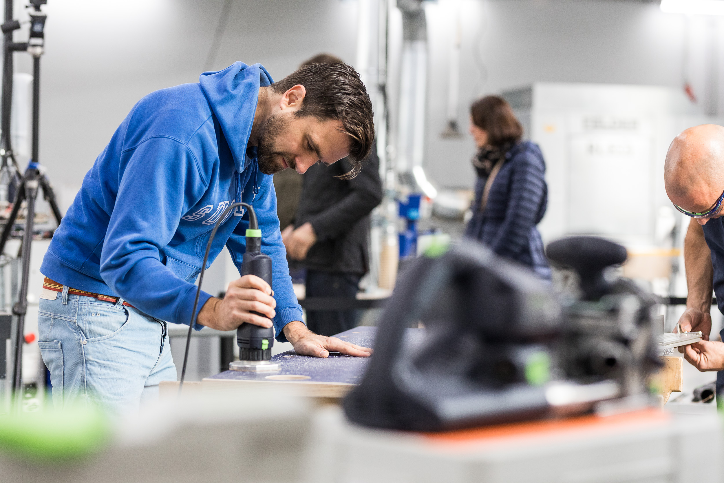 Prototyping workspaces - Fablab and makerspace for prototyping and small batch productions, packed with technology, professional machinery and experts to help bring your idea to life.