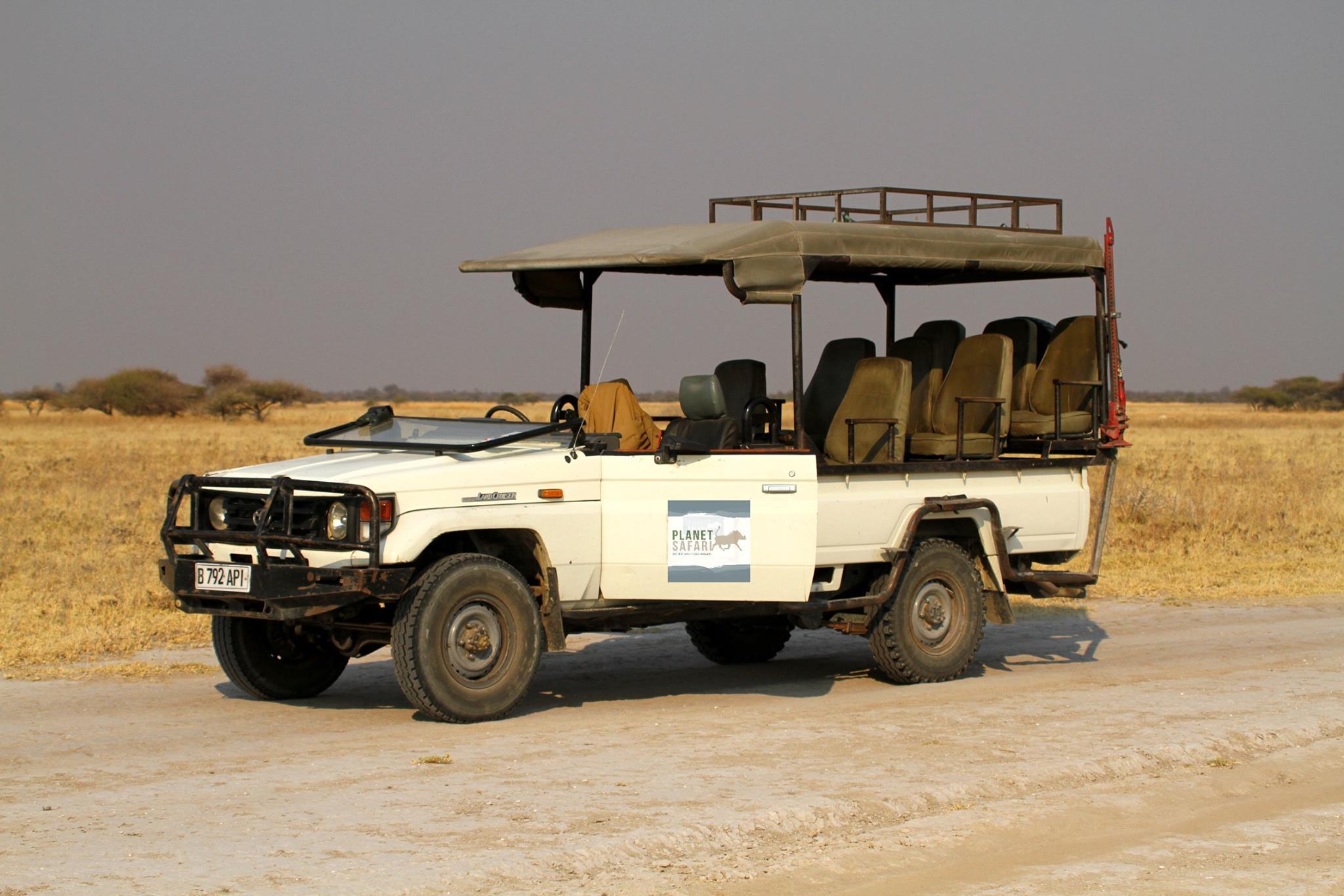 Planet Safari Vehicle