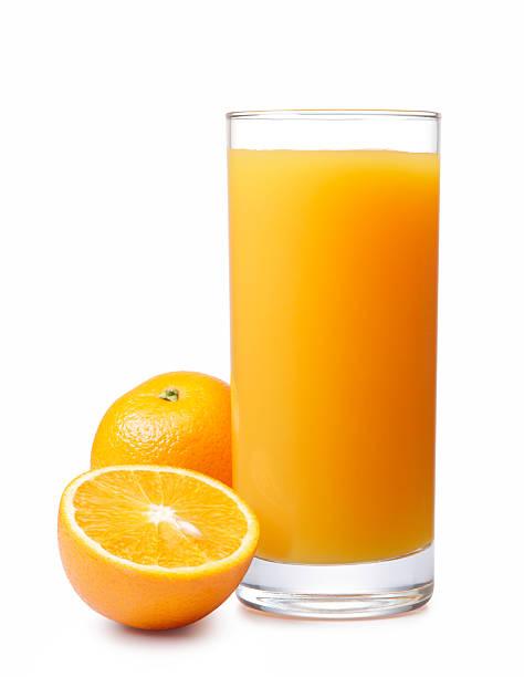 orange juice contains 24 grams of sugar per glass, while kefir and kombucha 2-8 grams