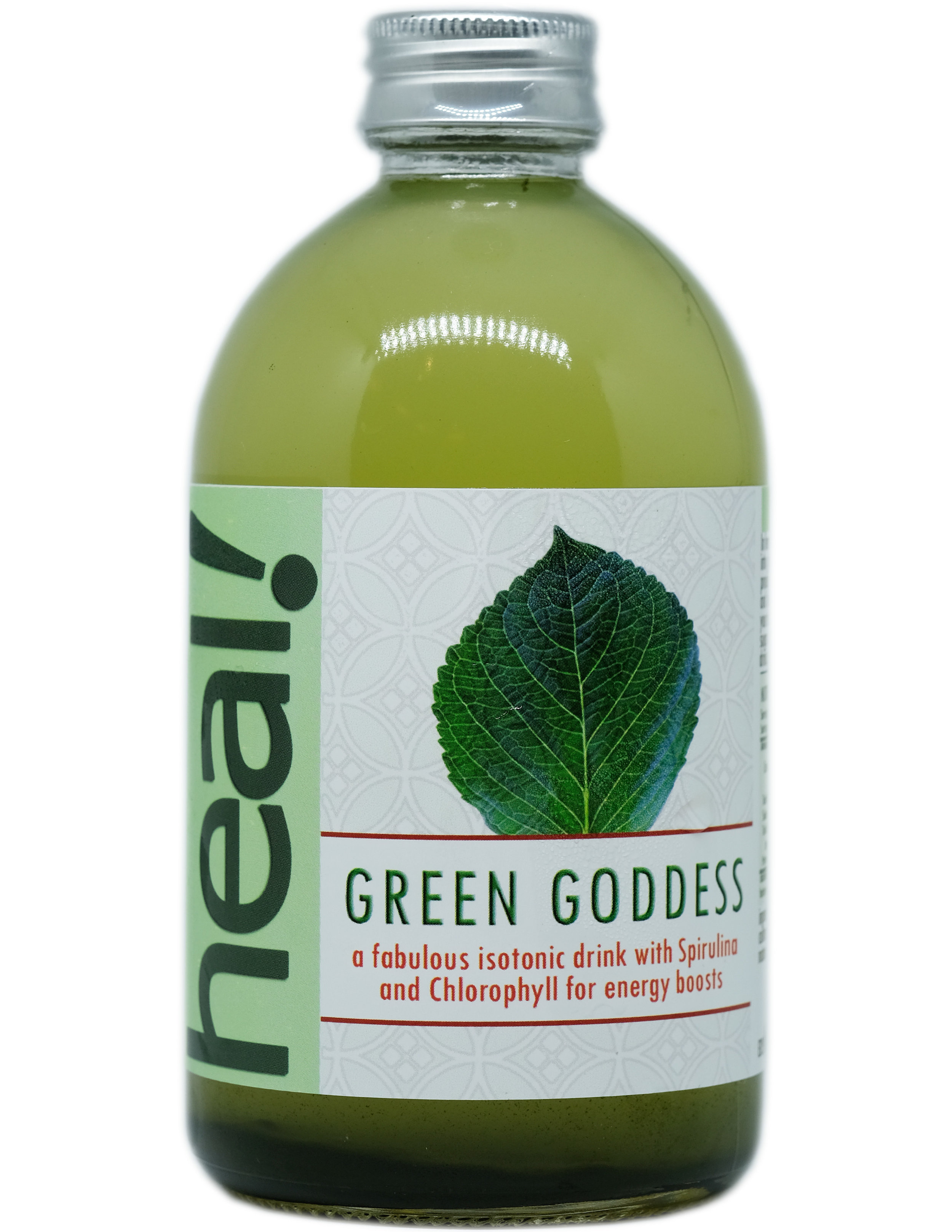 Minuman probiotik campuran ini dinamakan Green Goddess karena warnanya yang sangat hijau menarik seperti hijau Ratu Laut Selatan. Warna hijau ini disebabkan campuran Spirulina dan Klorofil yang menambah kadar kesehatan minuman ini.  Green Goddess juga isotonik, yang berarti mempunyai viskositas sama dengan sel-sel tubuh, menjadikan minuman ini baik sebagai pengganti keringat dan ion-ion hilang setelah jatuh sakit.  Spirulina mengandung omega 6, omega 3, protein, vitamin B1, B2, B3, tembaga, zat besi, magnesium, potasium, mangan dan hamper semua nutrisi yang kita perlukan. Klorofil meningkatkan imunitas, membantu detoksifikasi, membersihkan darah, dan meningkatkan energi.  Komposisi: Air Mineral, Kultur Kombucha, Kultur Water Kefir, Teh Jawa Oolong, Gula Tebu Alami, Spirulina, Klorofil  Kalori 20, Gula 3 gram per 175 ml sebelum fermentasi kedua yang membuat kadar kalori dan gula akan menjadi lebih rendah lagi.  Minuman ini dikemas dalam botol gelas, 100 %  recyclable, reusable, dan  refundable.  370 ml.  RESEP  klik di sini   KONTAK KAMI  klik di sini