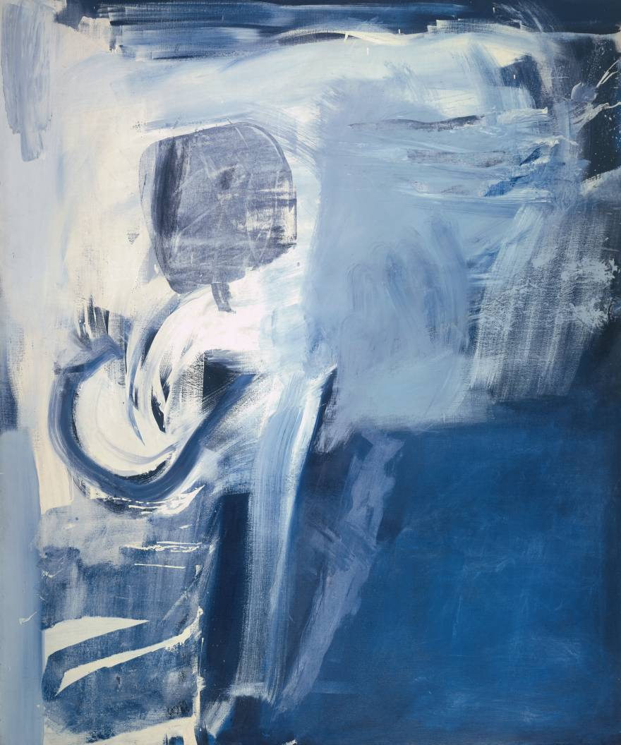 Peter Lanyon, 1918-1964. Thermal, 1960. Oil on canvas, 1829 x 1524mm. Tate T00375, purchased 1960.