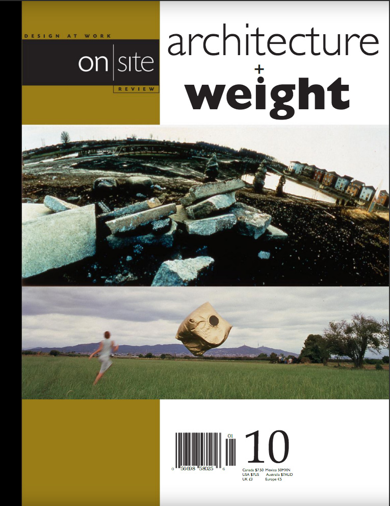 on site 10: weight