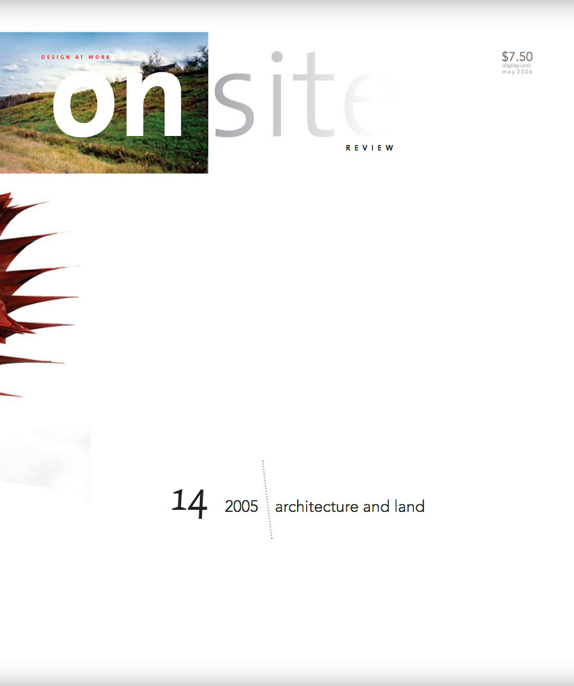 on site 14: land
