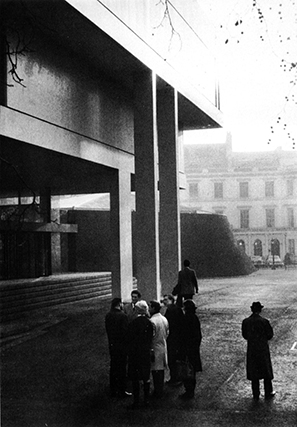 Denys Lasdun. Royal College of Physicians, London, 1960