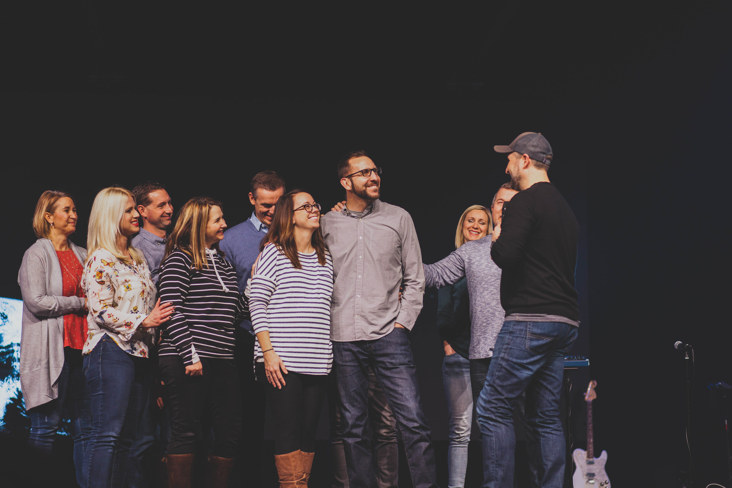 Our commissioning service at  Radiant Church  in Kalamazoo, MI.