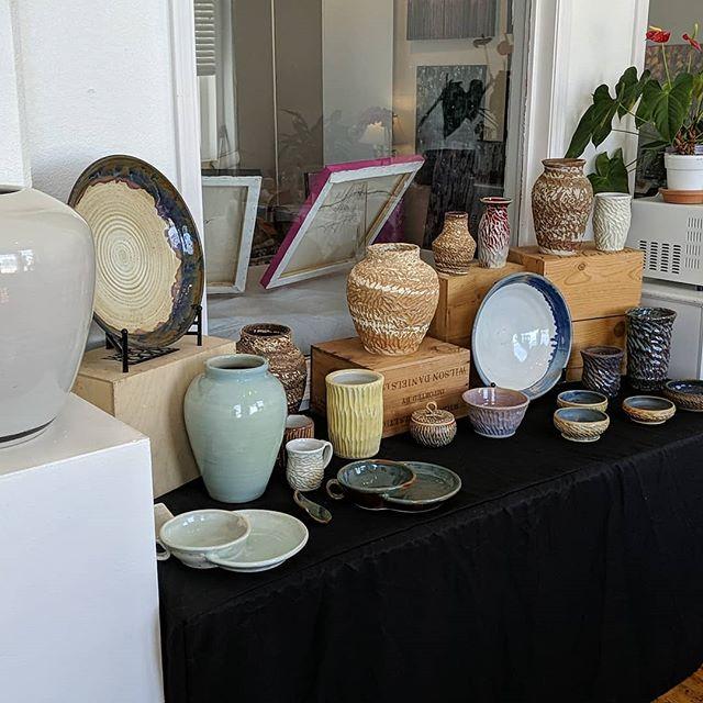 Arts Benicia Open Studios tour this Saturday. I'll be there selling my work amongst many other artists come check it out!  #handmadeceramics #ceramics #pottery #wheelthrownceramics #openstudios #art #artsbenicia #bayareaartist #potterysale #betourneceramics