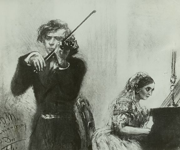Robert and Clara Schuman