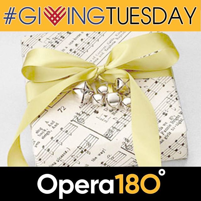 It's #GivingTuesday! Help us sing in Kansas City by making a gift to Opera 180 today.  Opera 180 supports local artists so the money you gift today stays right here in the City of Fountains. Opera 180 is committed to creating intimate performances that embrace local talent and connect new and established audiences with the opera art form by advancing and reinventing new and old repertoire.  Visit http://www.opera180.org/donate to make your gift today. Help us lift up local artists in Kansas City.