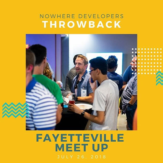 At the NWD Fayetteville Meet Up, we enjoyed meeting new friends while seeing some familiar faces from NWDC!