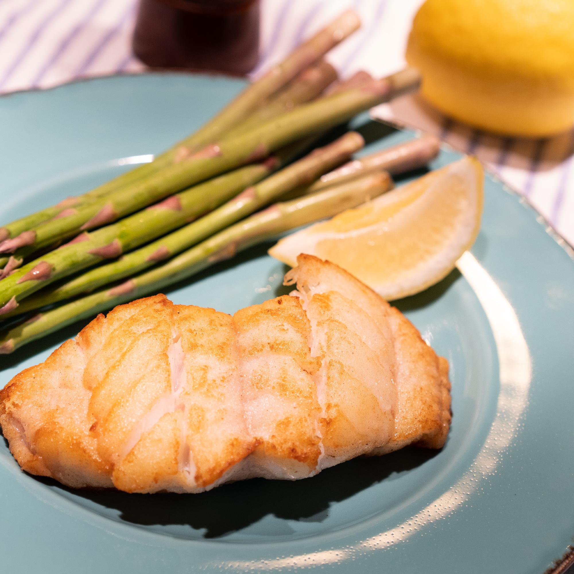 Hake Asparagus