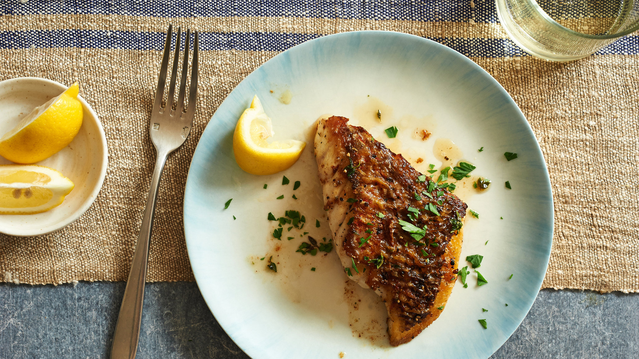Pan-Roasted Fish Fillets With Herb Butter.jpg