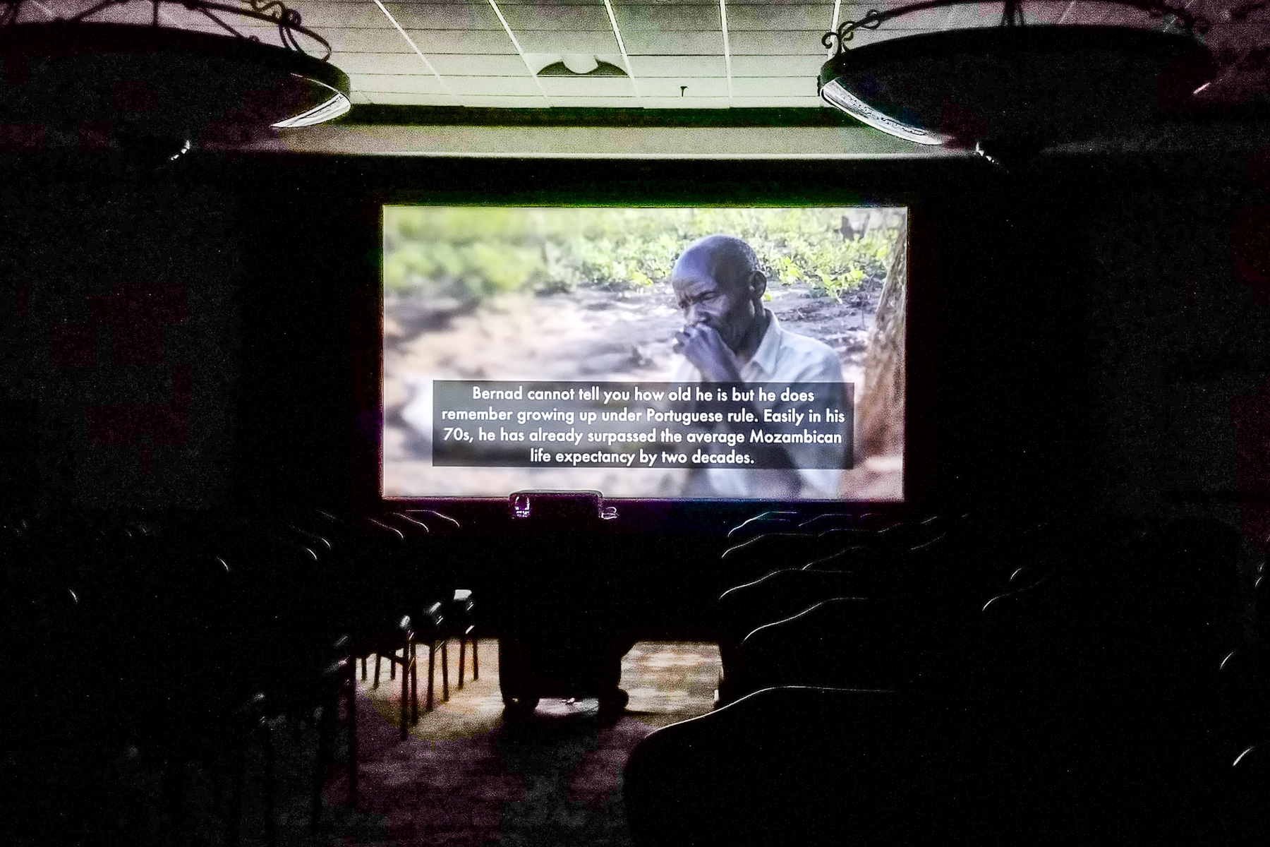 My film played to an empty theater on Monday afternoon.