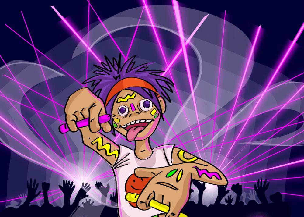 Glowstick Avenger