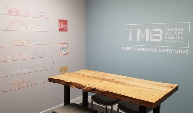 Office decals! Thanks for this little project @tmbrealestate  #officedecor #walldecals #vinyl #vinylwrap #wrapadmedia