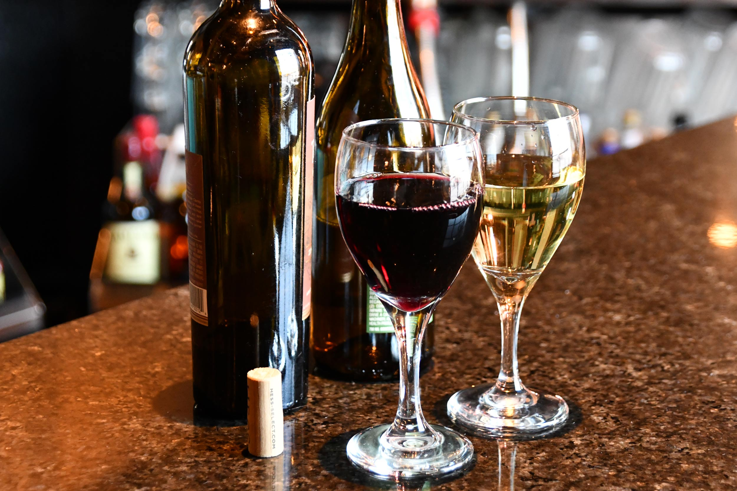$1 off house wines -
