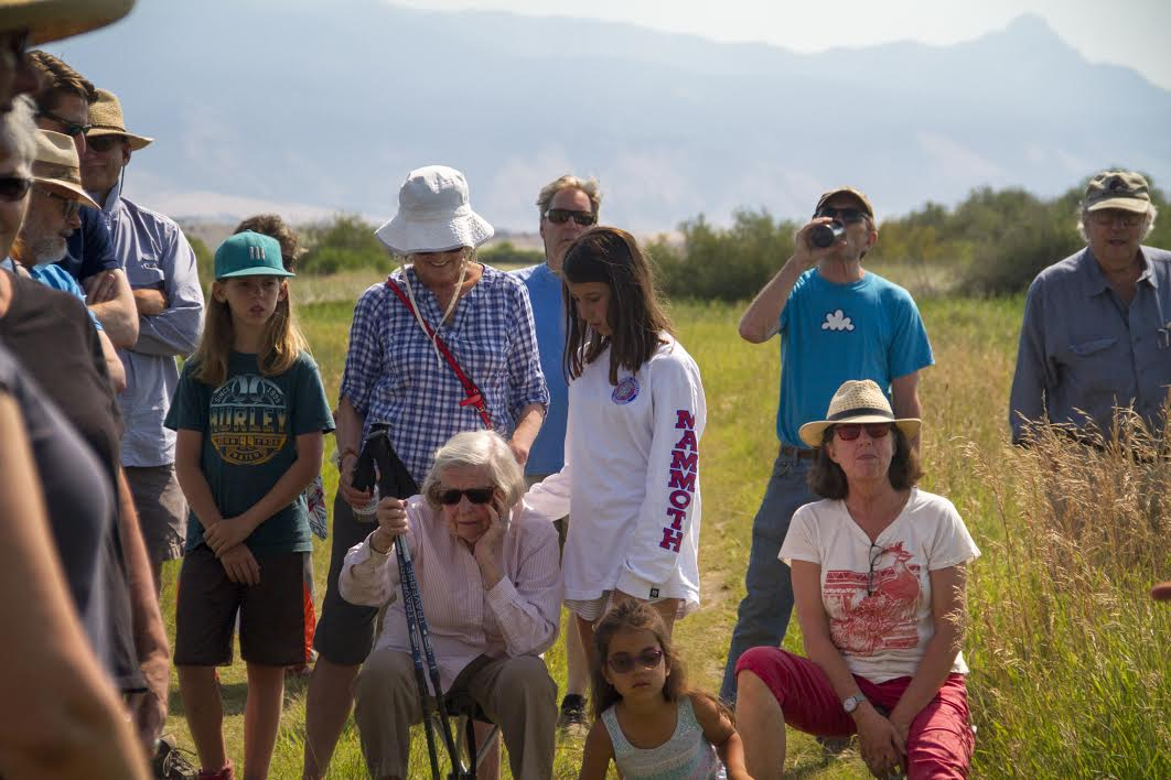 165 people enjoyed daily tours by Western scientist Lynn Bacon and Northern Cheyenne ethnobotanist Linwood Tall Bull.