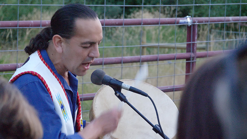 Scene 1: Shane Doyle, Singer and Native American Scholar: Jason Burlage