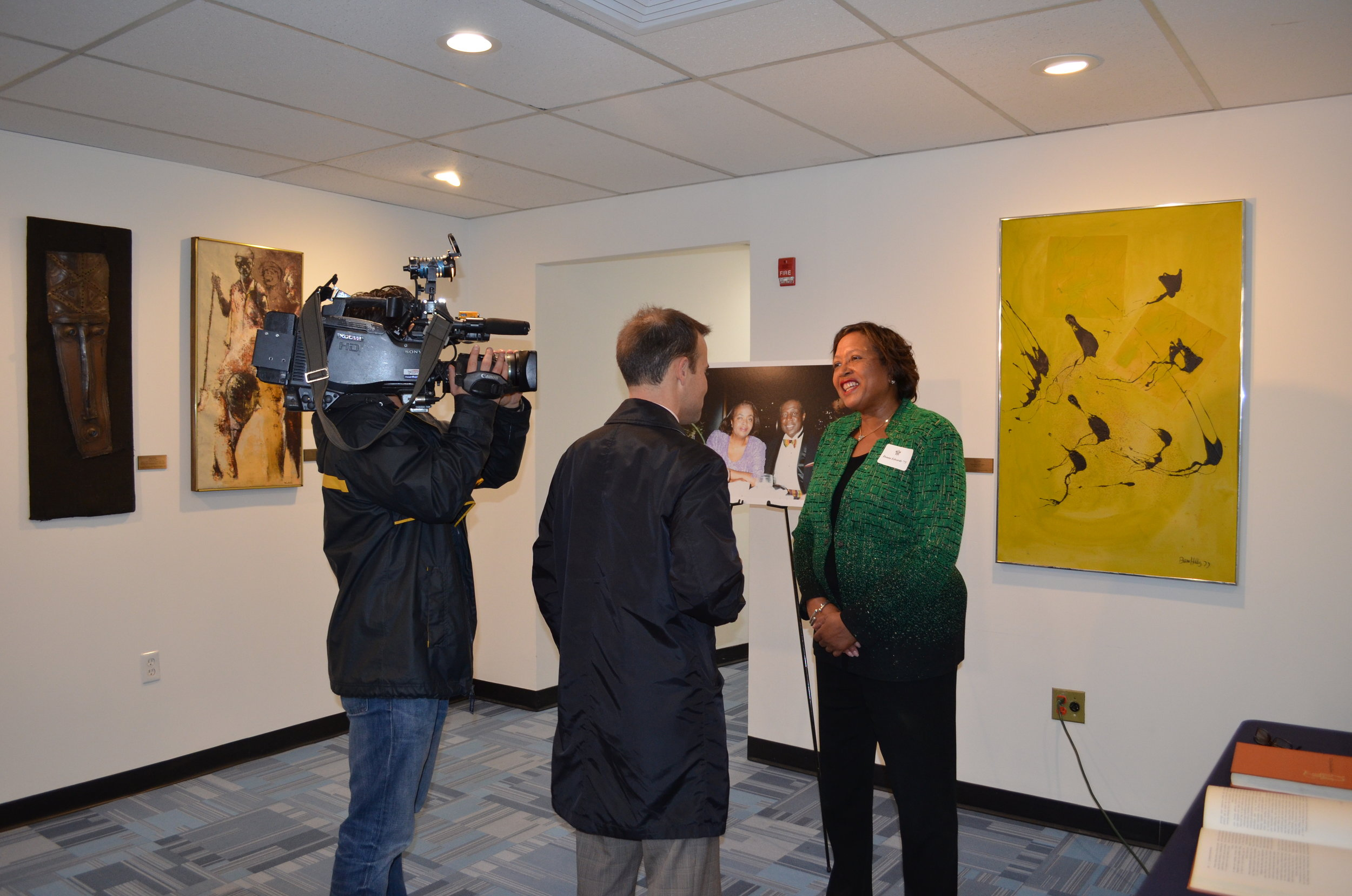 African Amer Art Reception, Nov 2015, 1.JPG