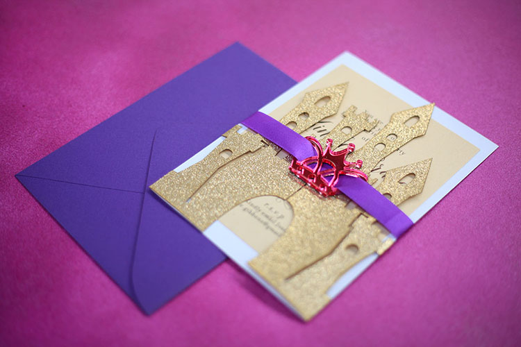 Laser cut invitations are very impressive. We have made them for individuals and small businesses. We can create a design for you, or you can give us your own design for us to laser cut.