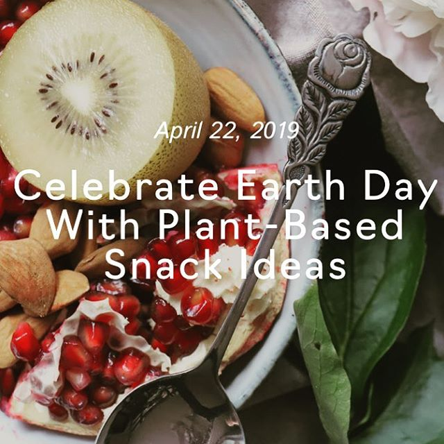 Happy Earth Day! Well By Me - Vegan Health Coaching is excited to be contributing to #earthday by teaching you how to enrich your life with amazing #plantbased and #vegan ingredients. Get your free Guilt-Free Snacking Guide on the blog today. (Link in Bio)