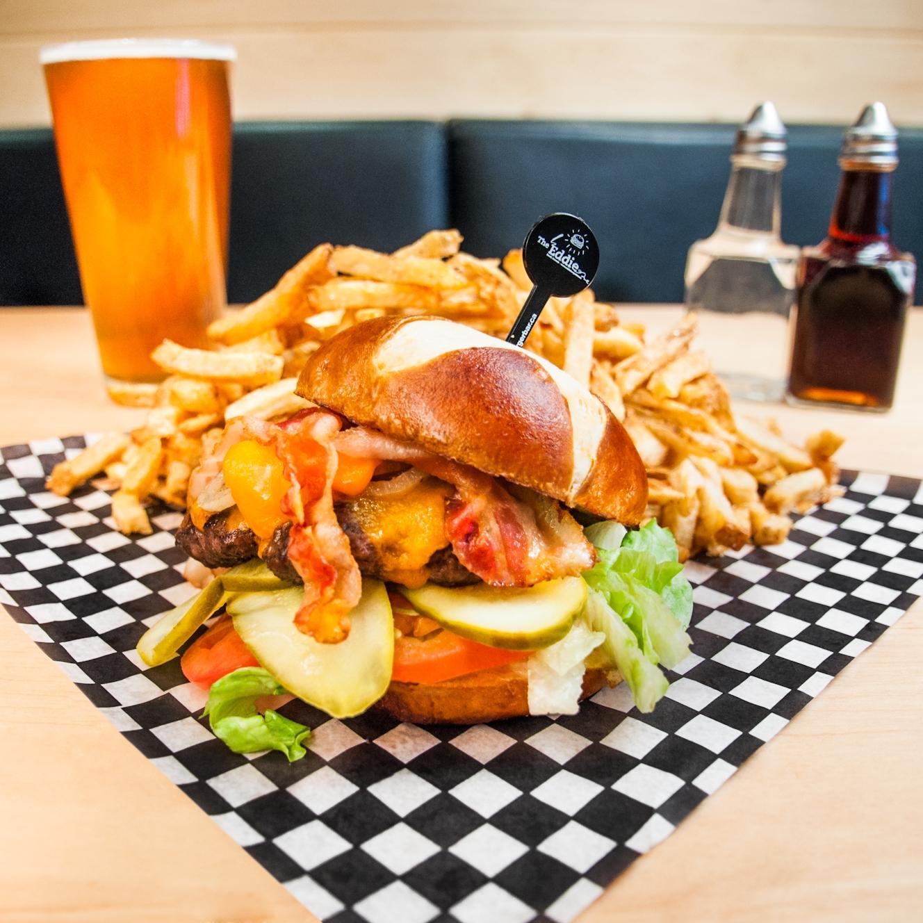 Eddie burger | Banff's best burgers