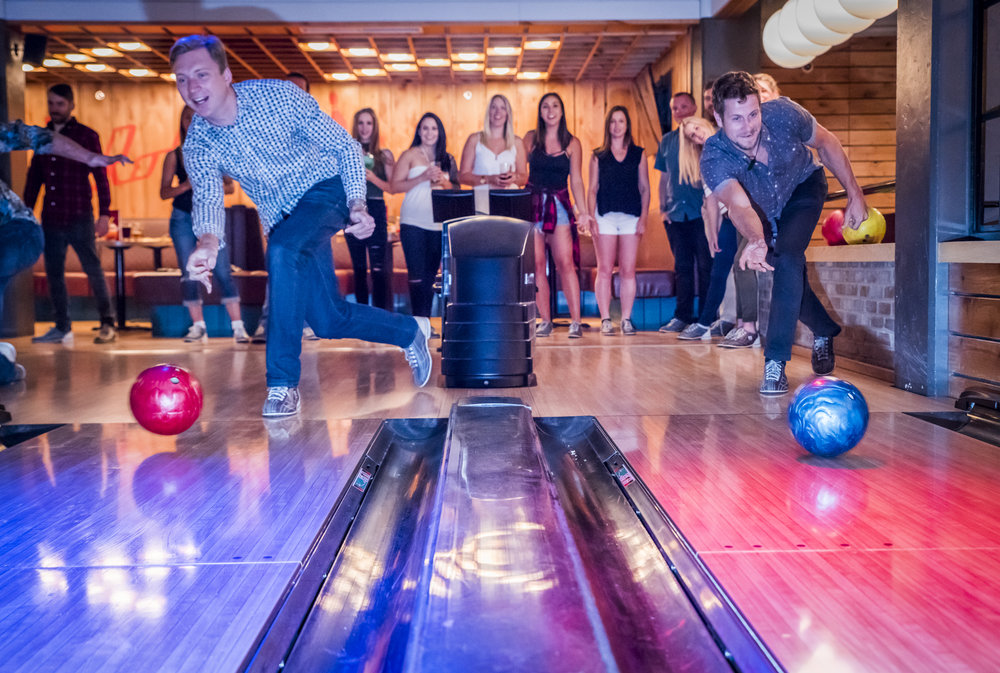 Bowling. DJ. Food stations. Enough said. -