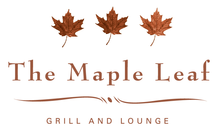 Maple Leaf Japanese menu