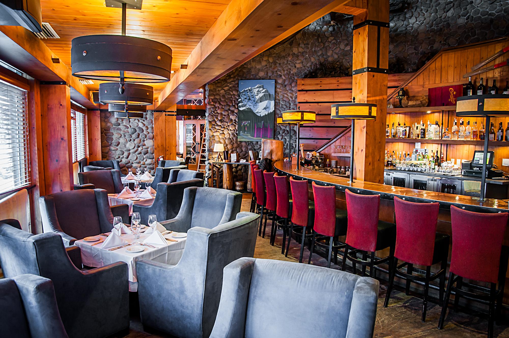 Our main floor lounge & bar
