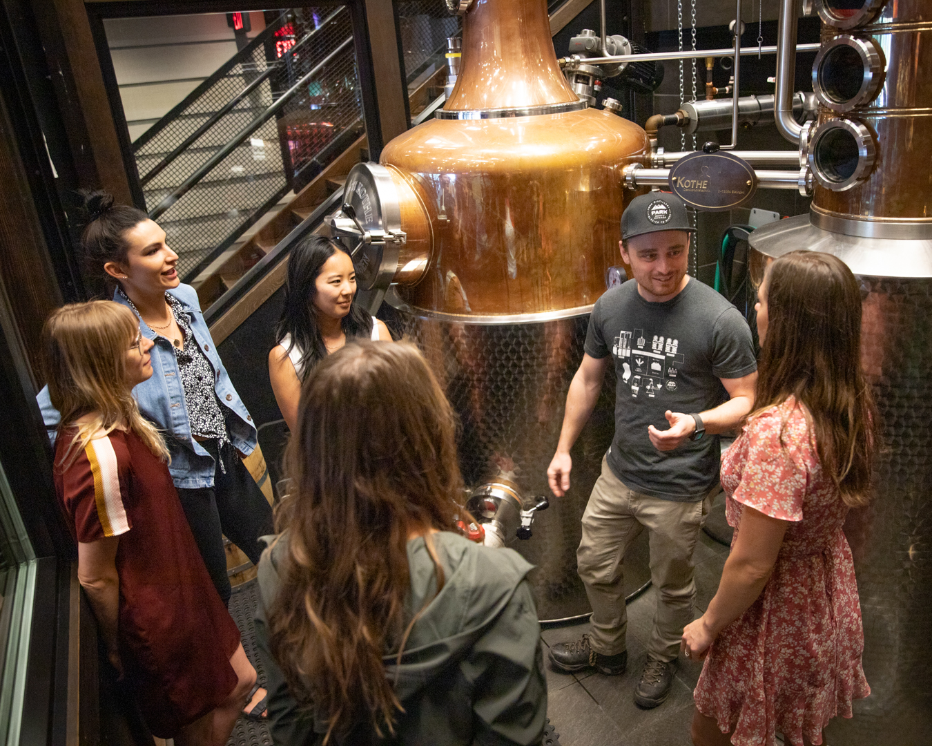 Guided Distillery Tour