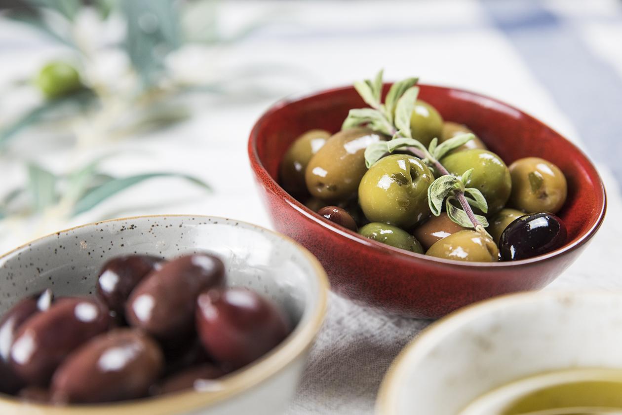 Selection of Greek Olives