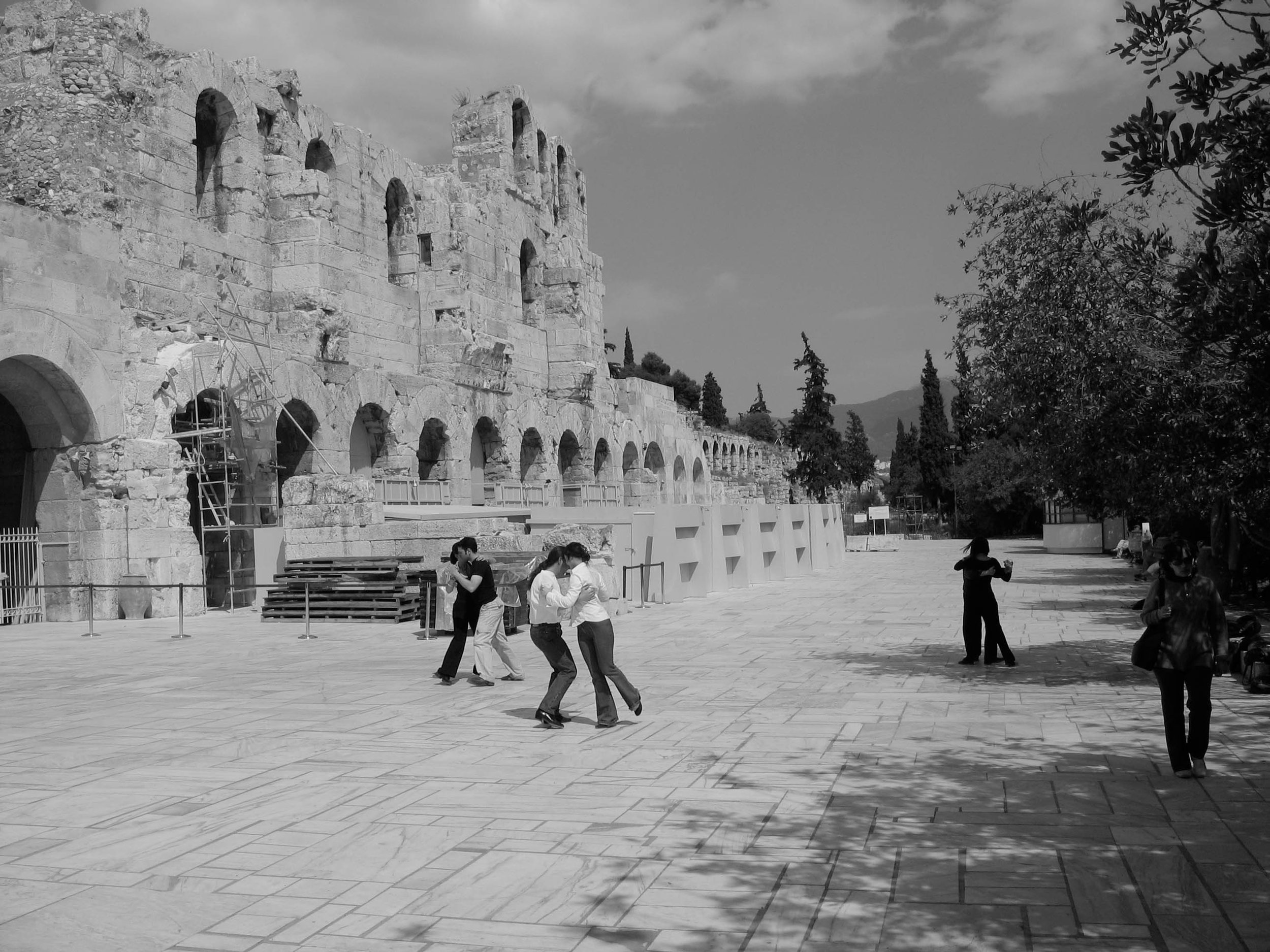 Waltzing in Athens