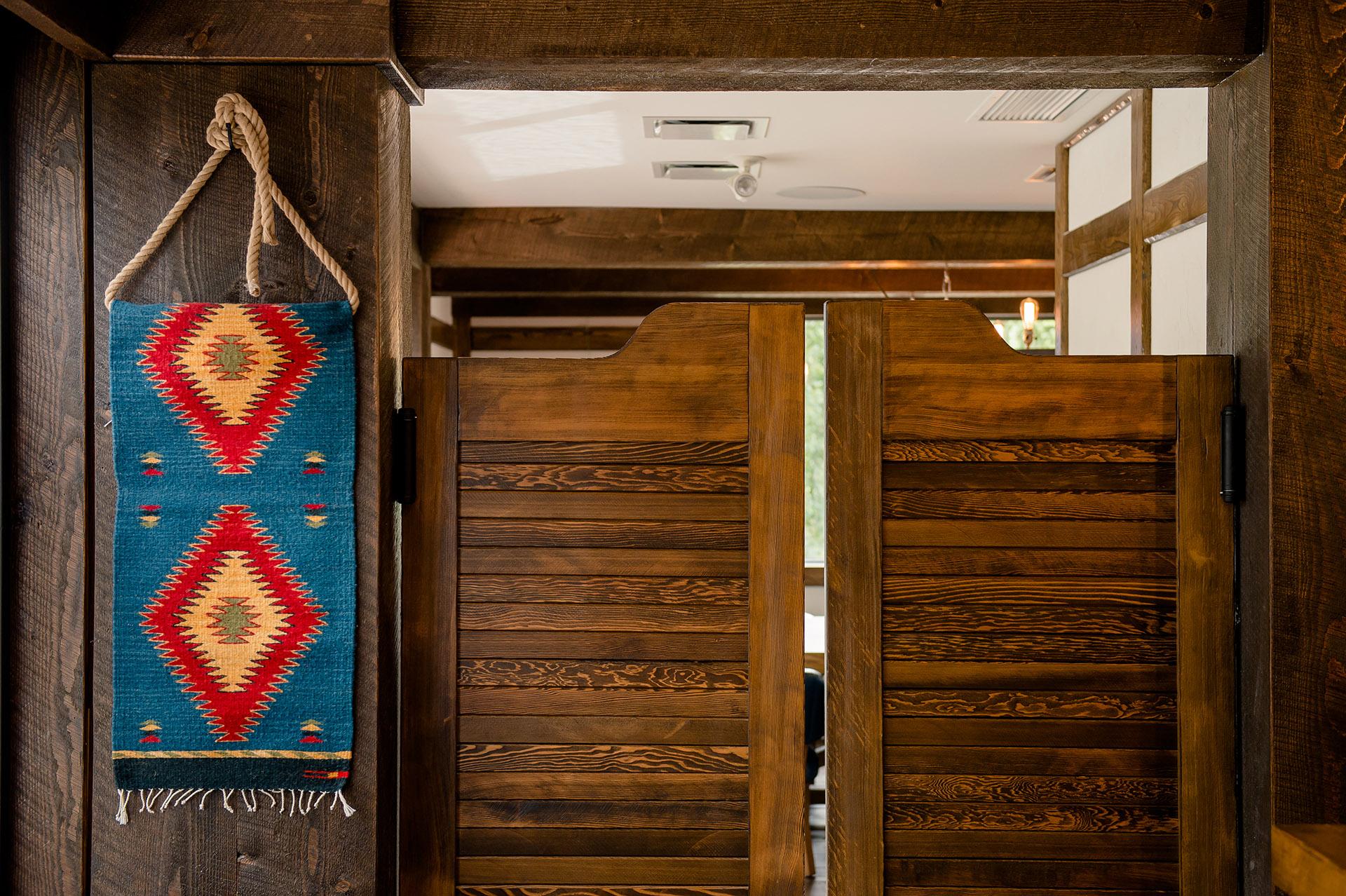 Swinging Saloon Doors