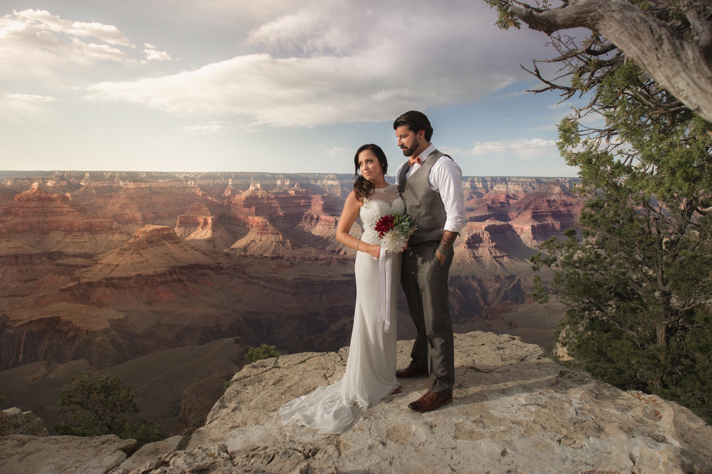 Yavapai Point, South Rim of the Grand Canyon - Arizona